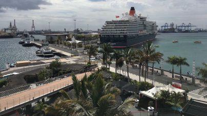 Fin de semana a ritmo de temporada alta de cruceros en Las Palmas de Gran Canaria