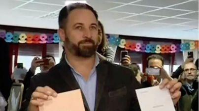 Abascal pide 'resolver las diferencias' votando para 'afianzar la unidad de España'