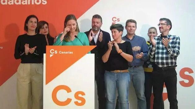Melisa Rodríguez admite los malos resultados y apela al 'sosiego' para 'hacer autocrítica' en Cs
