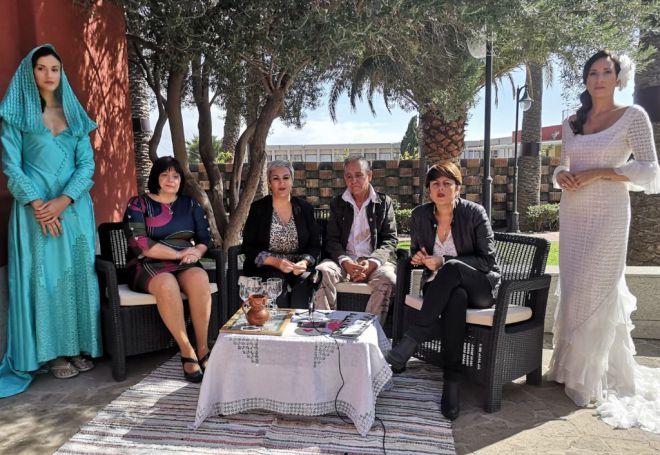 El tradicional calado de Gran Canaria desembarca en la 'Fashion Week' de Madrid