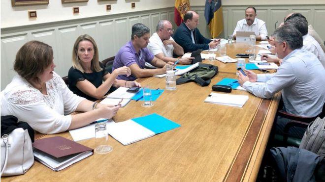 El Gobierno de Canarias implica a los grupos parlamentarios en el proyecto de Ley de Cambio Climático