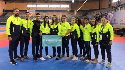La Escuela TKD La Laguna logra ocho medallas en el XXXV Open Internacional de Gran Canaria