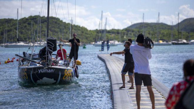 La Mini - Transat recibe en Martinica a los primeros veleros tras 12 días de navegación desde Las Palmas de Gran Canaria