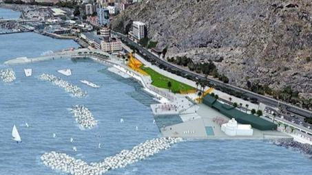 El Estado autoriza la firma del convenio para las obras de la playa de Valleseco