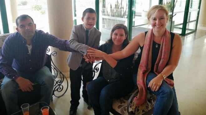 Creciendo Yaiza reconoce el apoyo del hotel Hesperia Playa Dorada