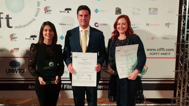 """""""El Amor Existe"""" se alza con el Premio al Mejor Vídeo en la Categoría de Turismo Gastronómico"""