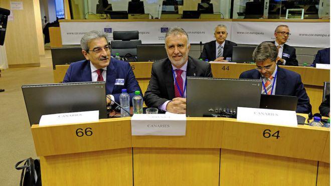 Canarias suscribe una Declaración Conjunta de las RUP para que la UE aumente los fondos específicos