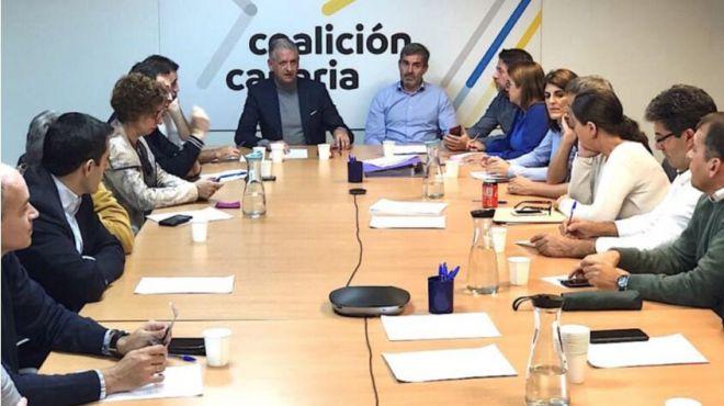 El Consejo Político Insular decidirá el voto de CC de Tenerife en una posible investidura de Pedro Sánchez
