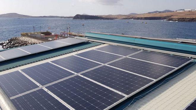 La desaladora Telde II cuenta con una nueva planta fotovoltaica