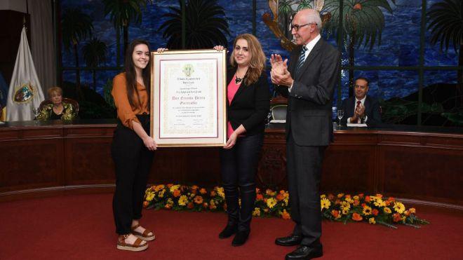 El Ayuntamiento de Santa Úrsula distingue como Hijo Adoptivo al músico Ernesto Beteta