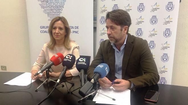 CC-PNC presentará una moción para enmendar los presupuestos del Gobierno porque frenan la creación de empleo en Tenerife