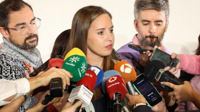 Melisa Rodríguez, elegida portavoz de la gestora de Cs