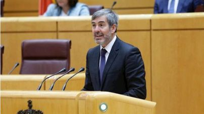 Clavijo denuncia la pérdida de 15 millones por el bloqueo del PSOE al proyecto de ley de Thomas Cook
