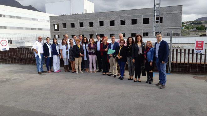 Gobierno de Canarias y Cabildo acuerdan ampliar el Hospital del Sur