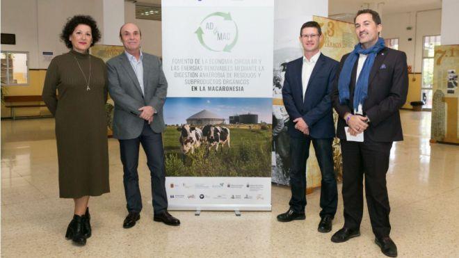 La ULL lidera un proyecto en la Macaronesia de producción de biogás a partir de residuos orgánicos de granjas y mataderos