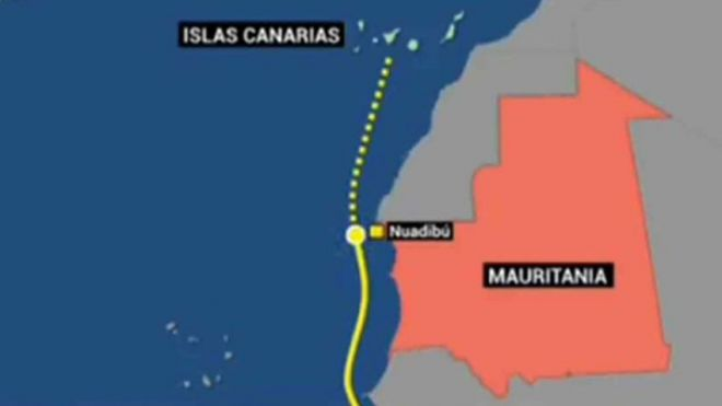 Mueren 62 migrantes por el naufragio de una patera el miércoles frente a Mauritania