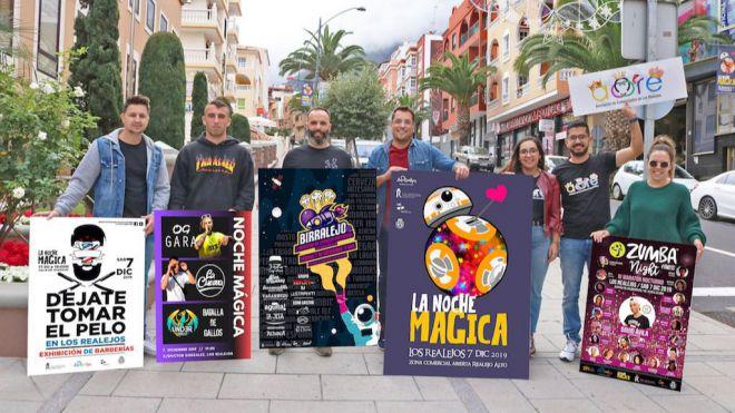 'La Noche Mágica' llenará Realejo Alto este sábado con medio centenar de actividades en cinco espacios