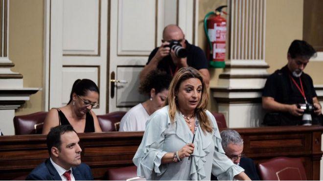 Cristina Valido reclama los fondos para la atención a la inmigración que el Estado retiró en 2012