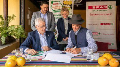 Telde presenta la Feria de la Naranja y el convenio de SPAR Gran Canaria y sus citricultores