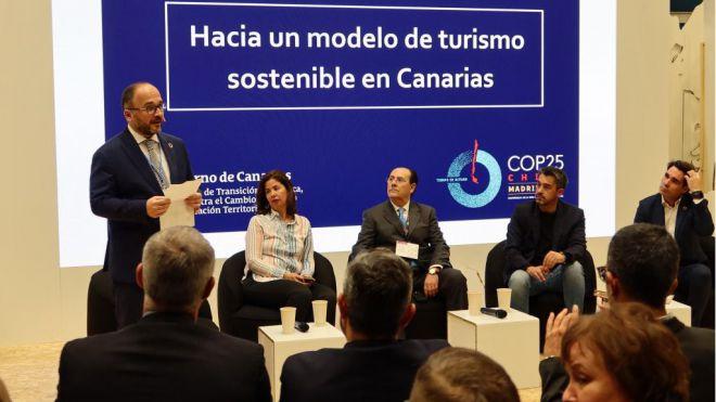 Canarias se posiciona en Madrid como un espacio de oportunidades para el turismo sostenible