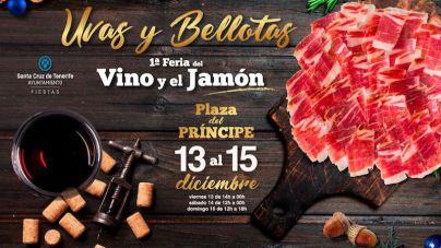 Santa Cruz acoge ´Uvas y Bellotas, la I Feria del Vino y el Jamón´