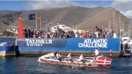 35 equipos parten de La Gomera en el desafío a remo de la Talisker Whisky Atlantic Challenge