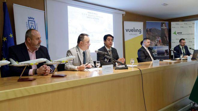 Vueling refuerza su presencia en la Isla con un tercer avión con base en el Aeropuerto de Tenerife Norte