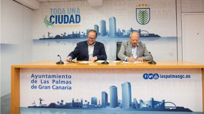 Cabildo y Guaguas Municipales facilitan la movilidad gratuita de estudiantes gomeros en la capital grancanaria