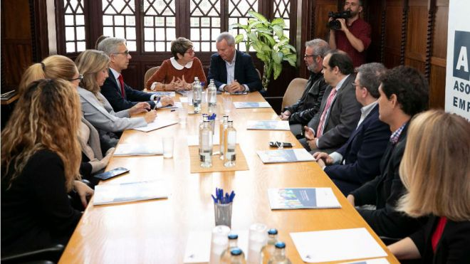 Franquis ofrece a la AEC de Las Palmas participar en el Pacto por el Acceso a una Vivienda Digna en Canarias