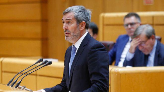 Clavijo requiere a Exteriores que informe de la decisión unilateral de Marruecos sobre el espacio marítimo