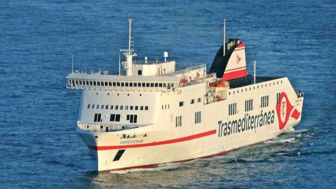 Fomento y Trasmediterránea prorrogan el contrato de servicio público en la línea Cádiz-Canarias
