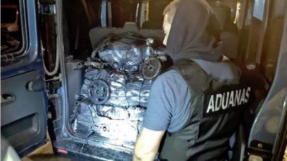 Intervienen 191 kilos de cocaína en un buque con destino el puerto de Las Palmas