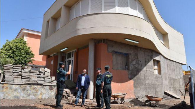 Radazul pasa a ser la sede de la Comandancia de Tenerife de la Guardia Civil con 4 mandos y 17 agentes