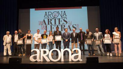 Arona premia el talento en artes plásticas y en relato corto en una nueva edición de Arona de las Artes y las Letras