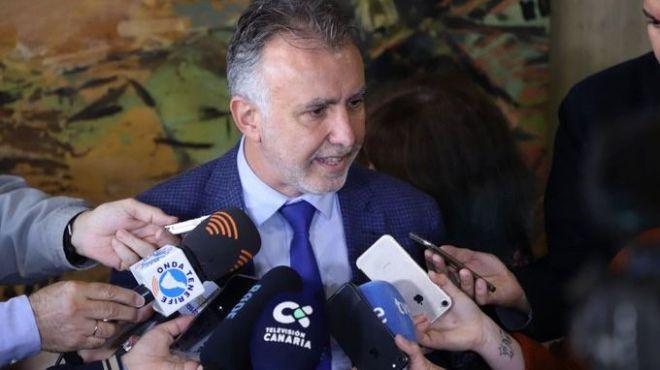"""El Gobierno de Canarias traslada su contundencia de que """"las aguas canarias no se tocan"""""""