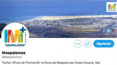 El exconcejal de Turismo y varios cargos de AV bloqueados en el Twitter @Maspalomas