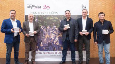 La Orquesta Sinfónica de Las Palmas celebra dos décadas de trayectoria en Gran Canaria con el disco 'Cantos isleños'