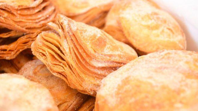 Los pasteles de hojaldre de Los Realejos aspiran a ser el mejor dulce de Navidad de España