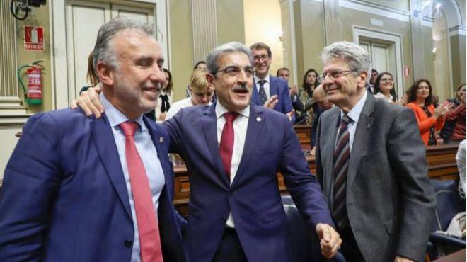 El Parlamento aprueba los presupuestos del Gobierno con el rechazo de CC, PP y Cs