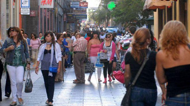 Canarias aumenta su población un 1,21% durante 2019 y se sitúa en 2,15 millones