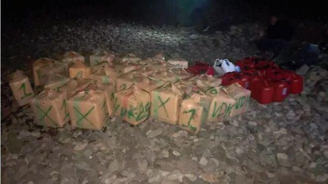 Interceptado un cargamento de 1.500 kilos de hachís en la costa de Gran Canaria