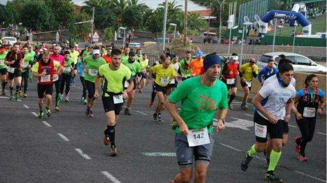 Los Realejos inaugura el calendario anual de carreras de montaña con 500 corredores en la VI Chanajiga Trail