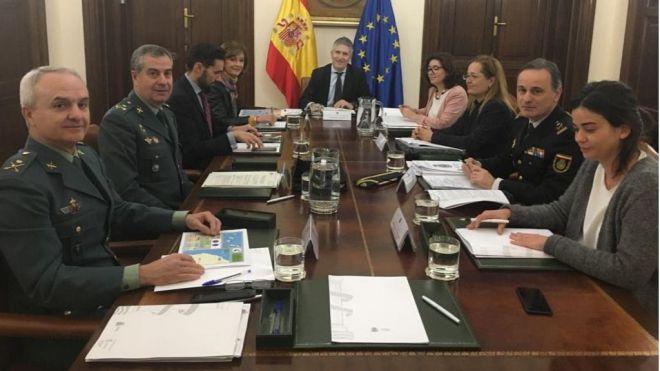 El Ministerio del Interior celebra la reunión monográfica sobre el repunte migratorio en Canarias