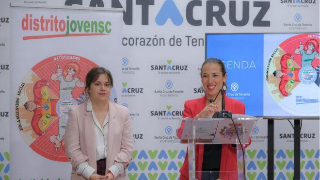 Santa Cruz lleva las actividades gratuitas de Distrito Joven por primera vez a todo el municipio