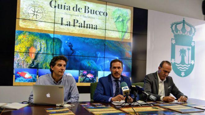 Primera guía de áreas de inmersión como apuesta decidida por el turismo de buceo en La Palma