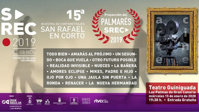El Teatro Guiniguada proyecta el palmarés de la 15ª edición de San Rafael en Corto