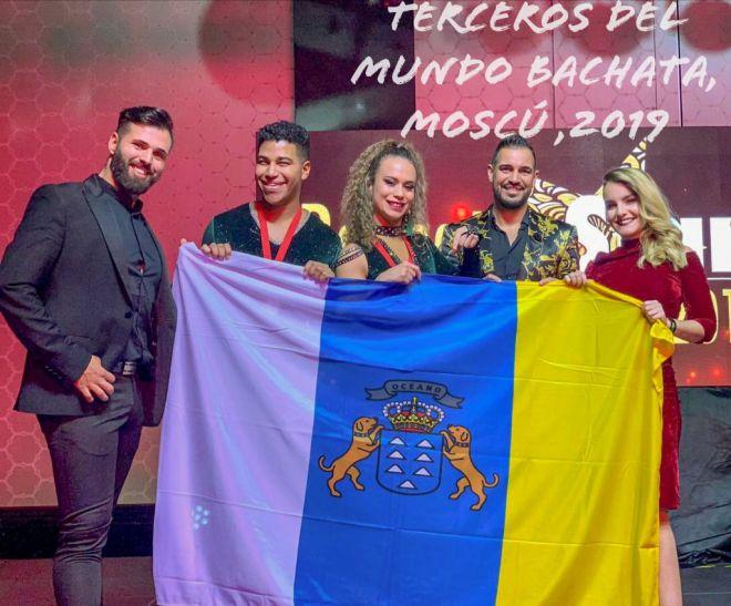 Manuel Macías y Lía Gómez, tercera posición en el campeonato mundial Bachatastars International