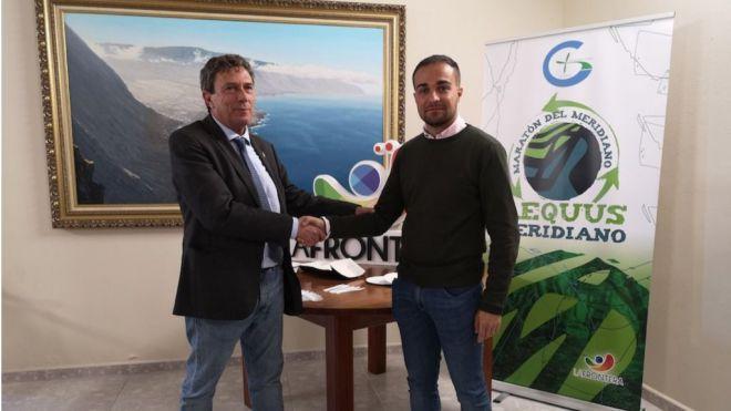 La Maratón del Meridiano Naviera Armas reafirma su compromiso medioambiental
