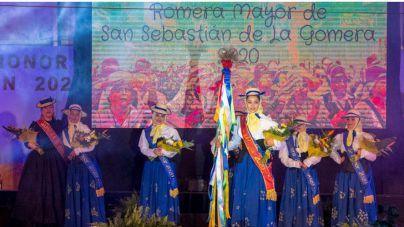 Lara Herrera elegida Romera Mayor de San Sebastián de La Gomera