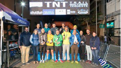 Miguel Heras y Myriam Baez, ganadores del X Trail Nocturno de Tegueste